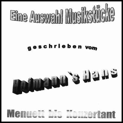 Notenheft - Hans Hofmann - Menuett bis Konzertant