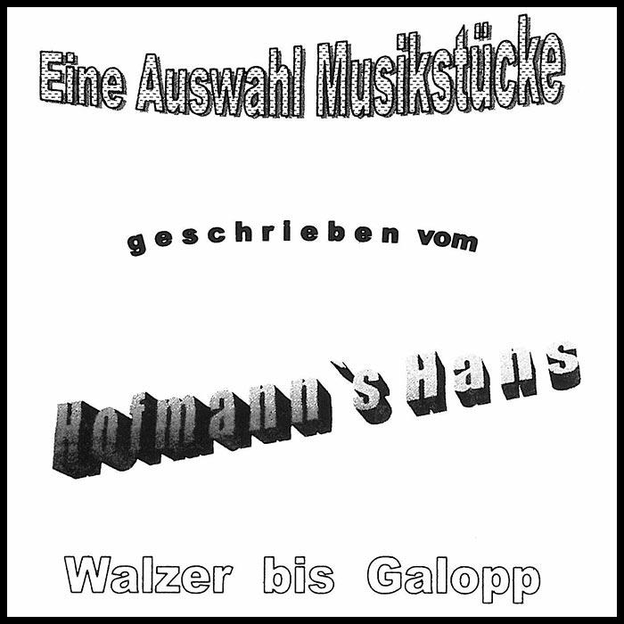 Notenheft - Hans Hofmann - Walzer bis Galopp